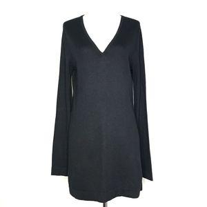 BCBGMaxAzria Dresses - BCBGMaxAzria Black Silk/Cashmere Sweater A170666